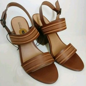 Indigo Brown Strappy Sandle